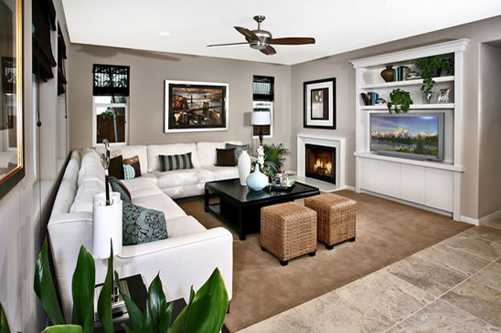 Bellford Model Home Interior Design Orange County